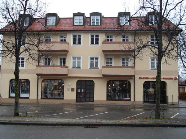 Fassade in Füssen