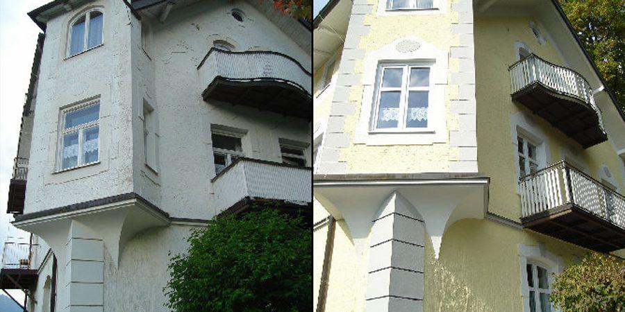 Neue Farbgestaltung durch Ihren Maler Christian Leupold in Füssen.
